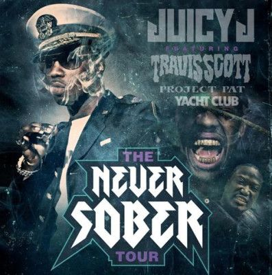 Word on the streets is The Yacht Club has been booked to perform on Juicy J's #NeverSober Tour featuring Travis Scott & Project Pat!!!! Yacht Club will be hitting the stage March 14th at the ...