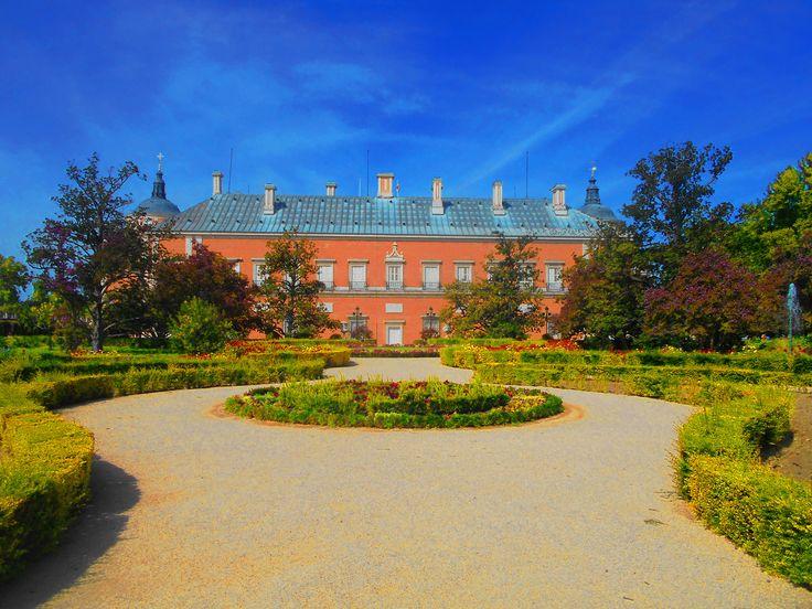 Palacio y Jardin desde Fuente de Ceres