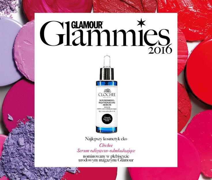"""Nominacja w kategorii """"Najlepszy kosmetyk eko"""" Glamour Glammies2016"""