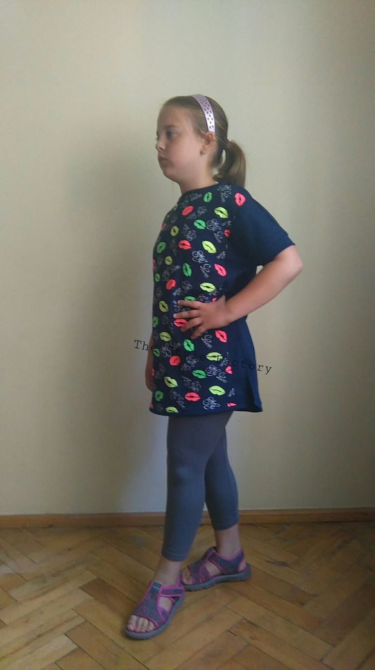 Tunic with print lips // thestylefactory.pl //