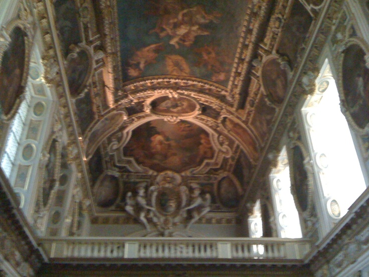 Look up. Fontainbleau