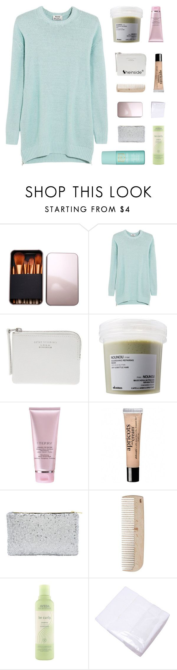 """""""with one motion it could all go wrong"""" by kristen-gregory-sexy-sports-babe ❤ liked on Polyvore featuring Acne Studios, Davines, philosophy, HAY, Aveda and Estée Lauder"""