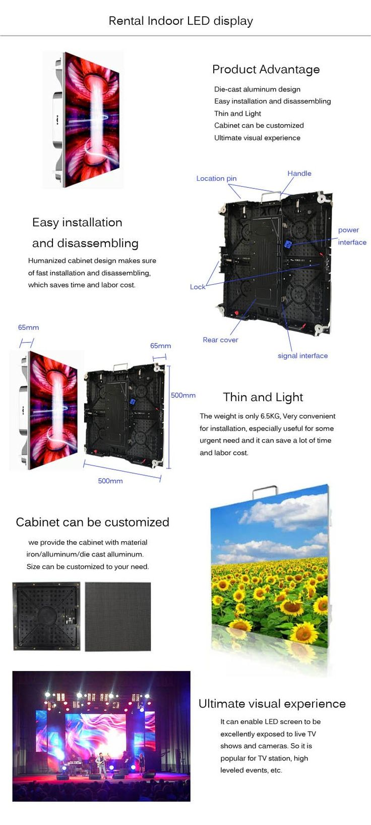 Promotion HD p4.81 indoor die-cast aluminum full color 500*500mm 0.189inch rental LED video wall screen with Rohs certification, View LED video wall, RADIANT Product Details from Shenzhen Radiant Technology Co., Ltd. on Alibaba.com