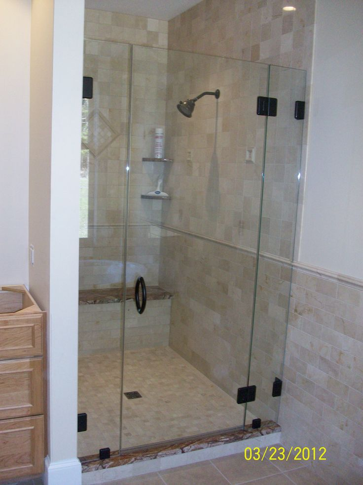 Custom Shower Enclosure By Glassworks (Waterbury, VT)