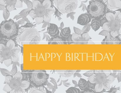 104 best birthday cards images on pinterest birthdays card shop preview image for product titled floral birthday yellow birthdays card shopcorporate bookmarktalkfo Gallery