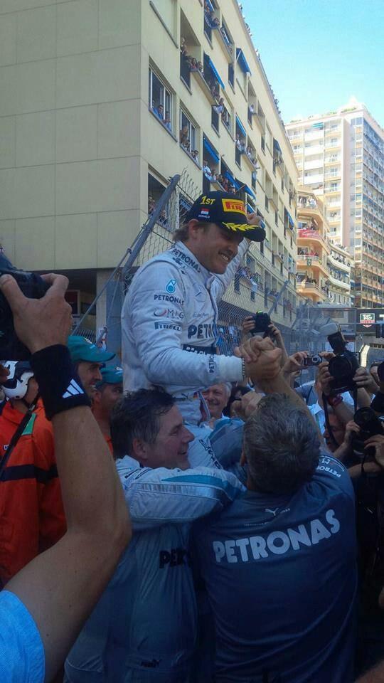 Gp monaco 26-5-2013 sunday Nico Rosberg winner