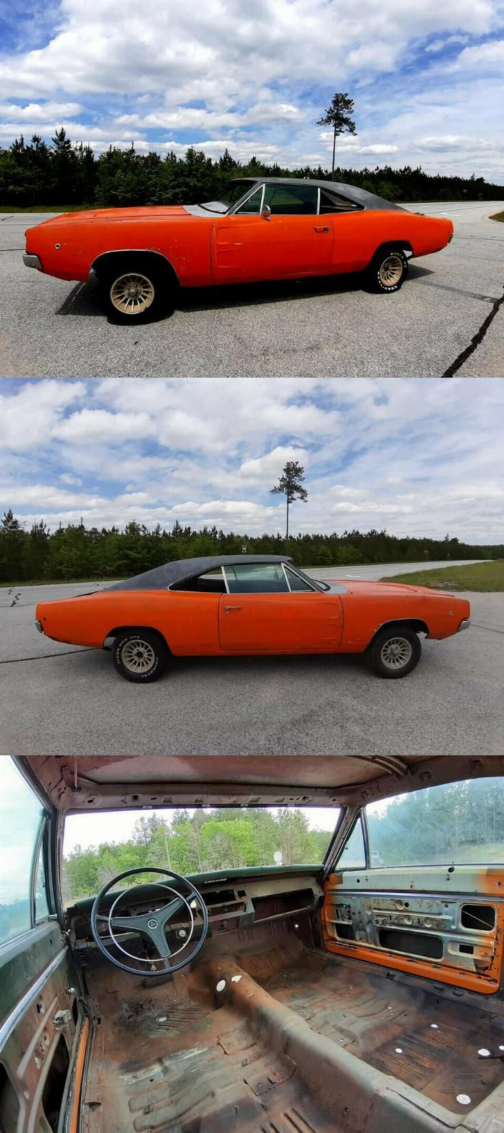 1968 Dodge Charger Project Car For Sale Cheap : dodge, charger, project, cheap, Solid, Dodge, Charger, Project, Charger,