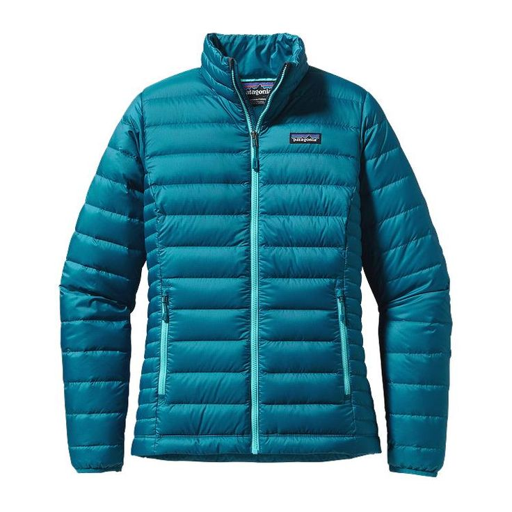 Patagonia Women\'s Down Sweater Jacket - Underwater Blue UWTB