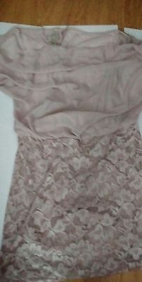 lace dress with linning size16