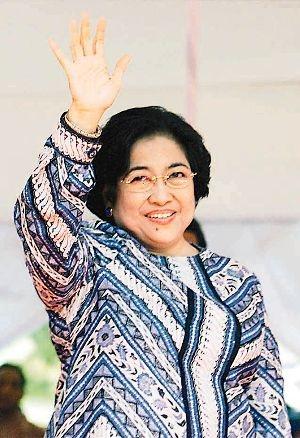 Megawati Soekarnoputri - Taken from SM/Reuters