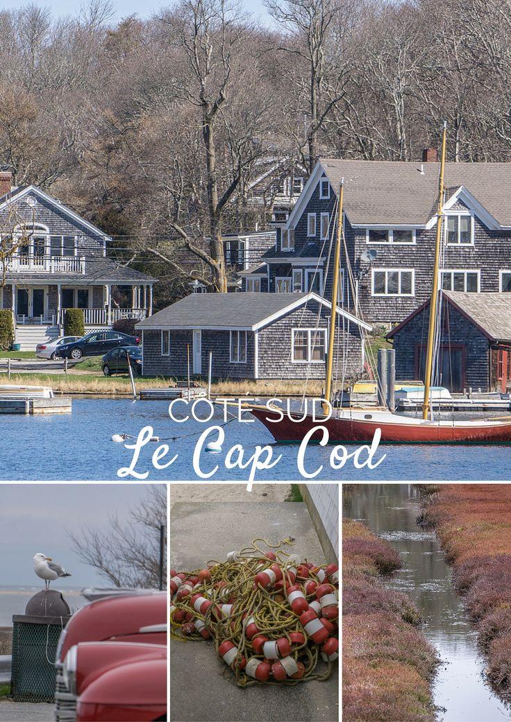 Le Cap Cod : ça fait rêver, c'est tout le charme de la côte Est américaine, le bord de mer, les cabanes à homard, les petits ports de pêche...