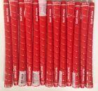 (13) NEW Golf Pride Tour Wrap 2G Standard RED 0.600 Round Golf Grip