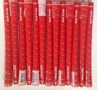 (13) NEW Golf Pride Tour Wrap 2G Standard RED 0.600 Round Golf Grip