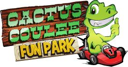 Cactus Coulee Fun Park - Drumheller, Alberta - Go-Karts, Mini-Golf and Eurobungy.