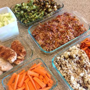 My exact steps for a 2 hour meal prep that will prepare your clean eating food for almost the entire week. Eat clean without cooking and cleaning up multiple times a day. One week meal plan included. 21 Day Fix compliant and mostly Paleo.