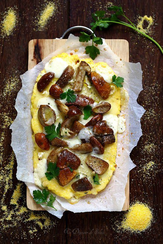 Dix recettes avec la polenta en 2020 | Recette, Recette ...