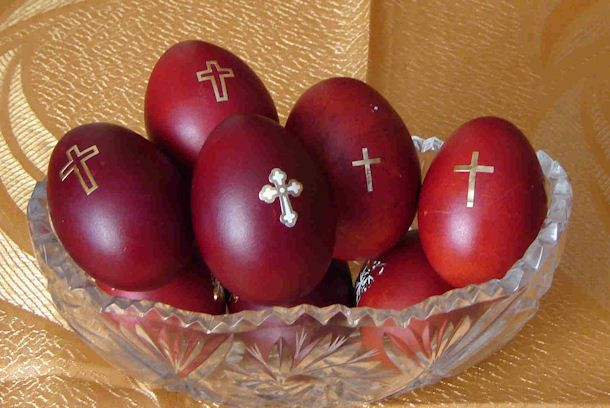 Greek Orthodox Easter Eggs