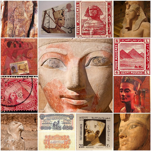 Egyptian Stamps!