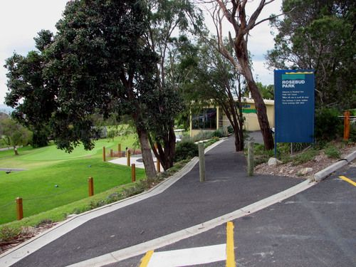 Rosebud Park Golf Course (2009). This land was reserved for 'Public Park & Recreation' in 1930, and it has been a golf course since 1956. It uses Carrington Park Club as its club rooms