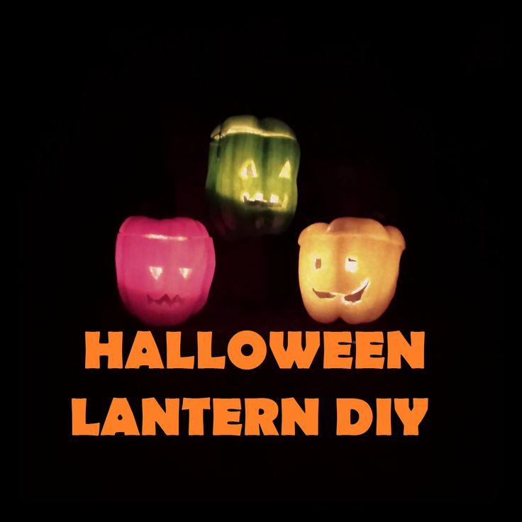 Check out my new video for a cheap & easy DIY pumpkin alternative for Halloween #diy #halloween  DIY Bell Pepper Halloween Lantern - Jack O Lantern