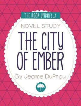"""The City of Ember This is a novel study for The City of Ember by Jeanne DuPrau. 52 pages of student work, plus an answer key! This novel study divides The City of Ember into seven sections for study. The chapters are grouped as follows: """"The Instructions"""" - Chapter 2, 3-5, 6-8, 9-11, 12-14, 15-17, 18-20."""