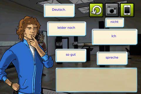 Learnabenteuer Deutch - Das Geheimnis der Himmelsscheibe. Appen er gratsi.  Denne er til de ældste elever. Man skal udføre nogle opgaver. man får nye opgaver, som man kommer frem i spillet.