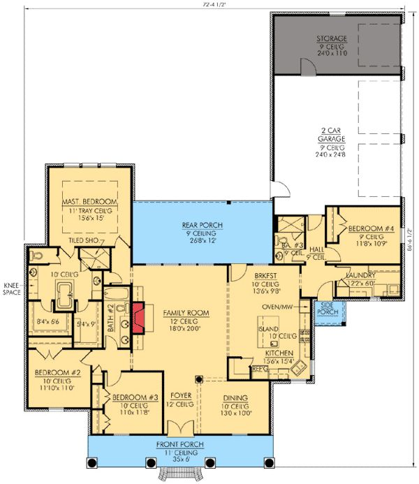 59 best images about floor plans on pinterest house for House plans with separate guest house
