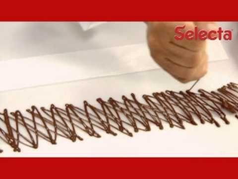 ▶ É fácil fazer grades de chocolate - YouTube