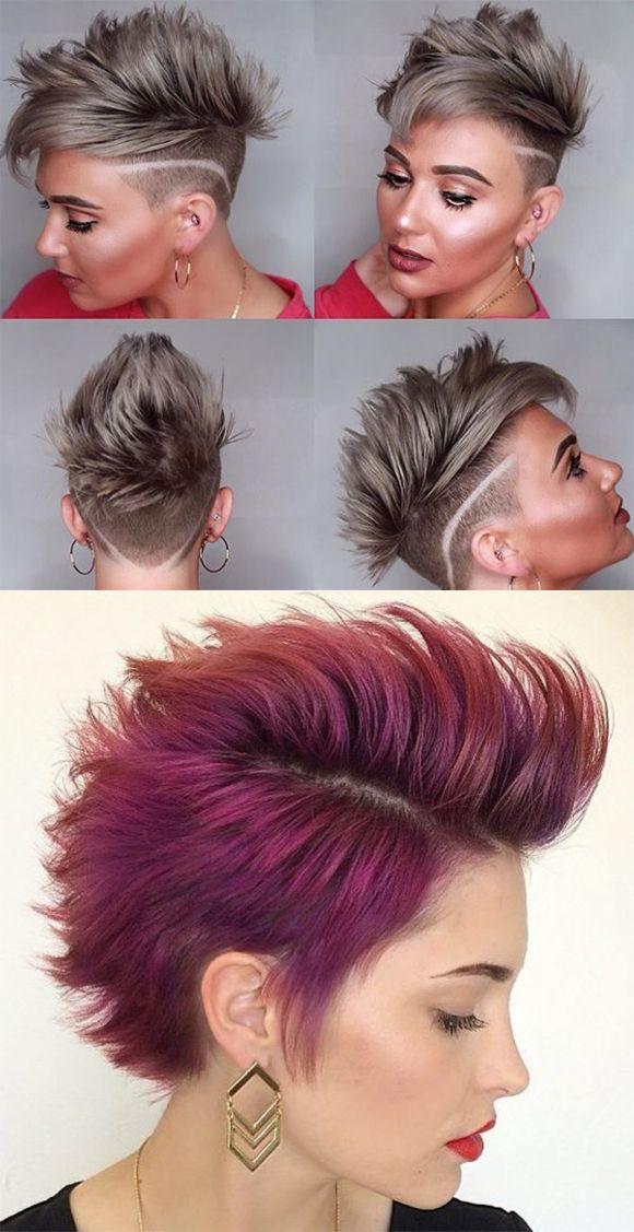 Heissesten Kurzen Pixie Haarschnitte Jahr 2019 2020 Frisur Trend