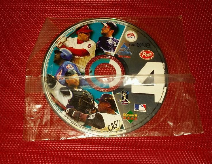 2003 Upper Deck MLB EA America Online Real One Collectible CD ROM 4