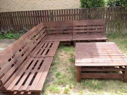 diy outdoor corner sofa - Google Search