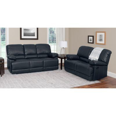 Sofa Cover CorLiving Lea Piece Bonded Leather Reclining Sofa Set LZY Z Products Leather reclining sofa and Sofa set