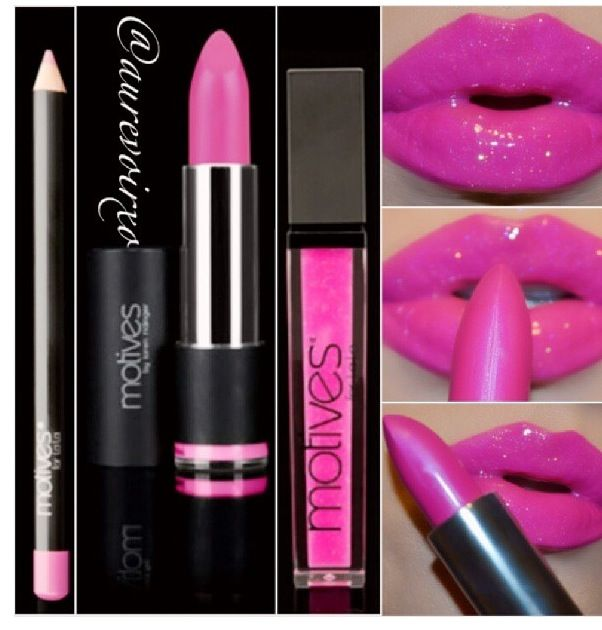 Motives Cosmetics by Loren Ridinger teamed up with La La Anthony,reality TV star and Carmelo Anthony's wife to introduce a brand new customized cosmetic line Motives for La La,which includes mineral base lipsticks,blushes,lip shines and more.