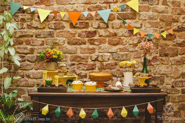 Como montar uma festa junina em casa com muito charme e detalhes DIY