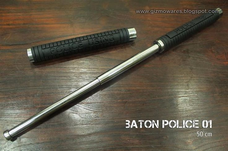 This is the type of metal baton 38 year old Katie McCrary was assaulted with by Georgia Police officer P.J. Larscheid after a store manager called police on a spurious allegation of her loitering at the Chevron gas station premises. The police officer's attack was so vicious Katie had to be taken to hospital, his blows so powerful the sound of his weapon pounding against her shins, arms and head is clearly audible:
