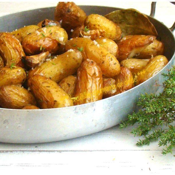 Pommes de terre Grenailles aux herbes aromatiques et au sel de Guérande