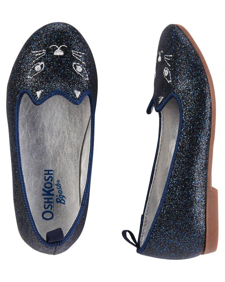 Chaussures scintillantes à motif de chat pour bébés filles | Carter's OshKosh Canada