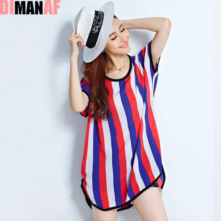 Plus Size Women T-Shirt Striped Camouflage Chiffon O-Neck Summer Style Tops Polka Dot Show Thin Female Casual Fashion T-Shirt
