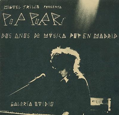 Galería Ovidio 1981 - Exposición Miguel Trillo