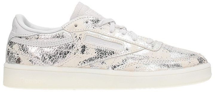 Reebok Club C 85 Classic Leather Chrome Silver Met Sneakers
