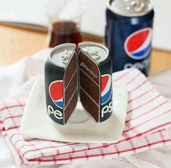 All hail Pepsi cake!