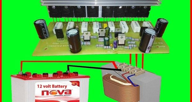 How do you make a step up transformer? | inventer in 2019