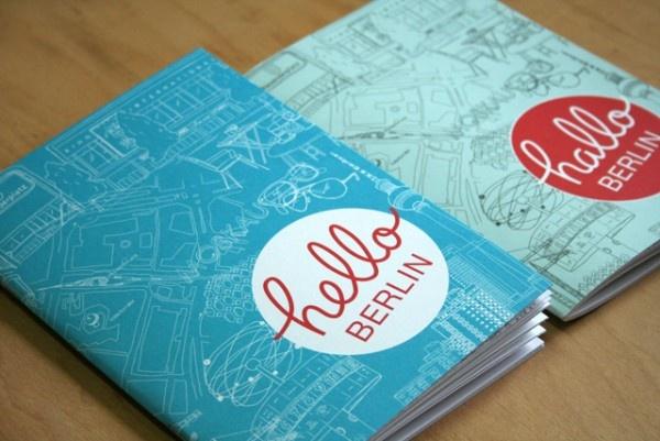 Hello Berlin // fun little #booklet + #illustration: Design Inspiration, Graphics Prints, Circles Editorial Layout, Logos Design, Prints Design, Circles Editorial Design, Covers Design, Hello Berlin, Hands Drawn