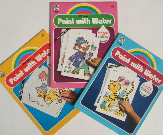 133 best Coloring books & Art supplies images on Pinterest | Vintage ...