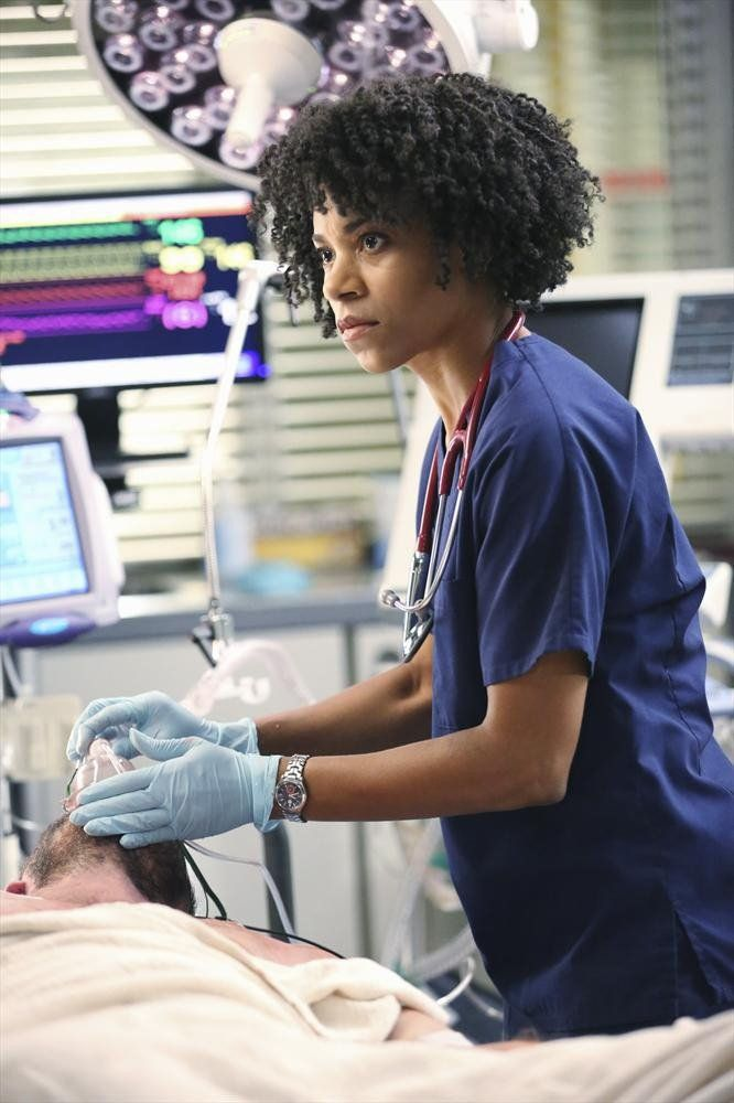 Pin for Later: Fall TV Is Here! Get Excited With All the Season Premiere Pictures Grey's Anatomy Kelly McCreary as Dr. Maggie Pierce on the season premiere of Grey's Anatomy, airing Thursday, Sept. 25, on ABC.