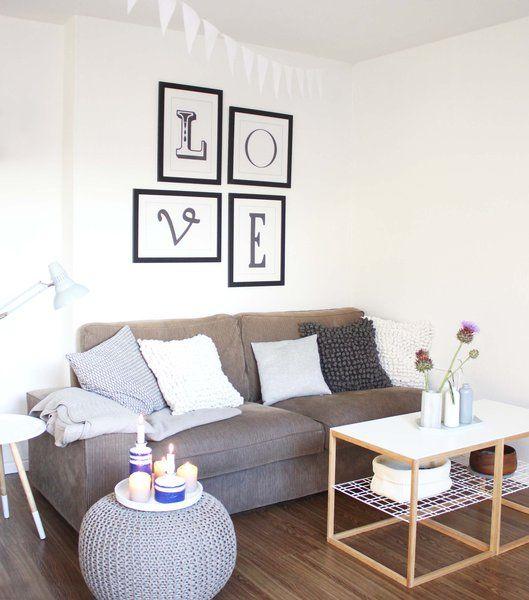 60 Besten Wohnzimmer Grau Bilder Auf Pinterest | Wohnzimmer Grau ... Wohnzimmer Grau Ikea