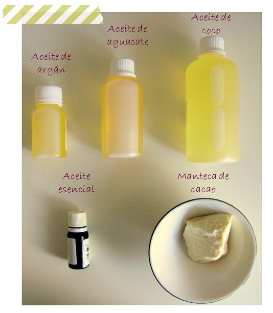 Organicus: Suero sólido para el cabello. DIY