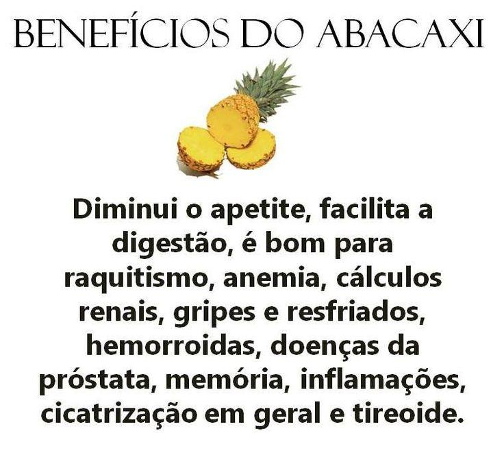 #Benefícios do #abacaxi. Saiba como fazer mais coisas em http://www.comofazer.org