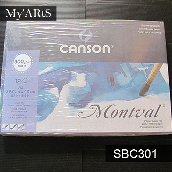 Canson Montval Watercolour Paper Has A Great Erasability For