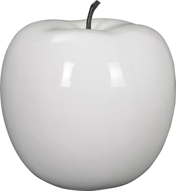 Et voilà la pomme déco design XXL, mais cette fois-ci en blanc. Dotée d'un diamètre de 83 cm, elle saura mettre en valeur votre intérieur comme votre extérieur. Elle est disponible en plusieurs coloris, alors n'hésitez pas ;)